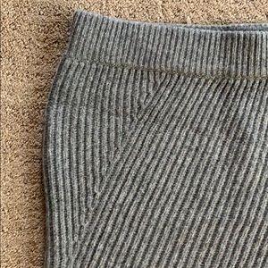 Madewell knit sweater skirt